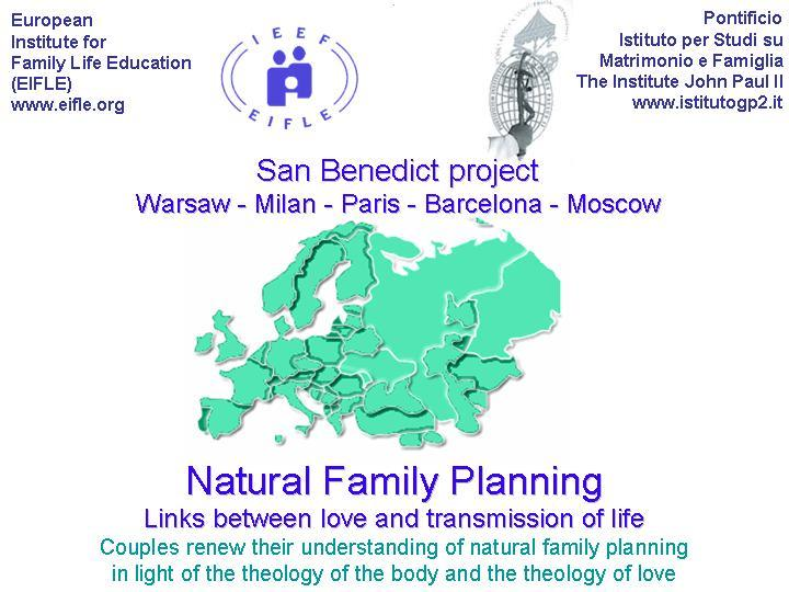 Flyer of the San Benedict project in Warsawa 2009