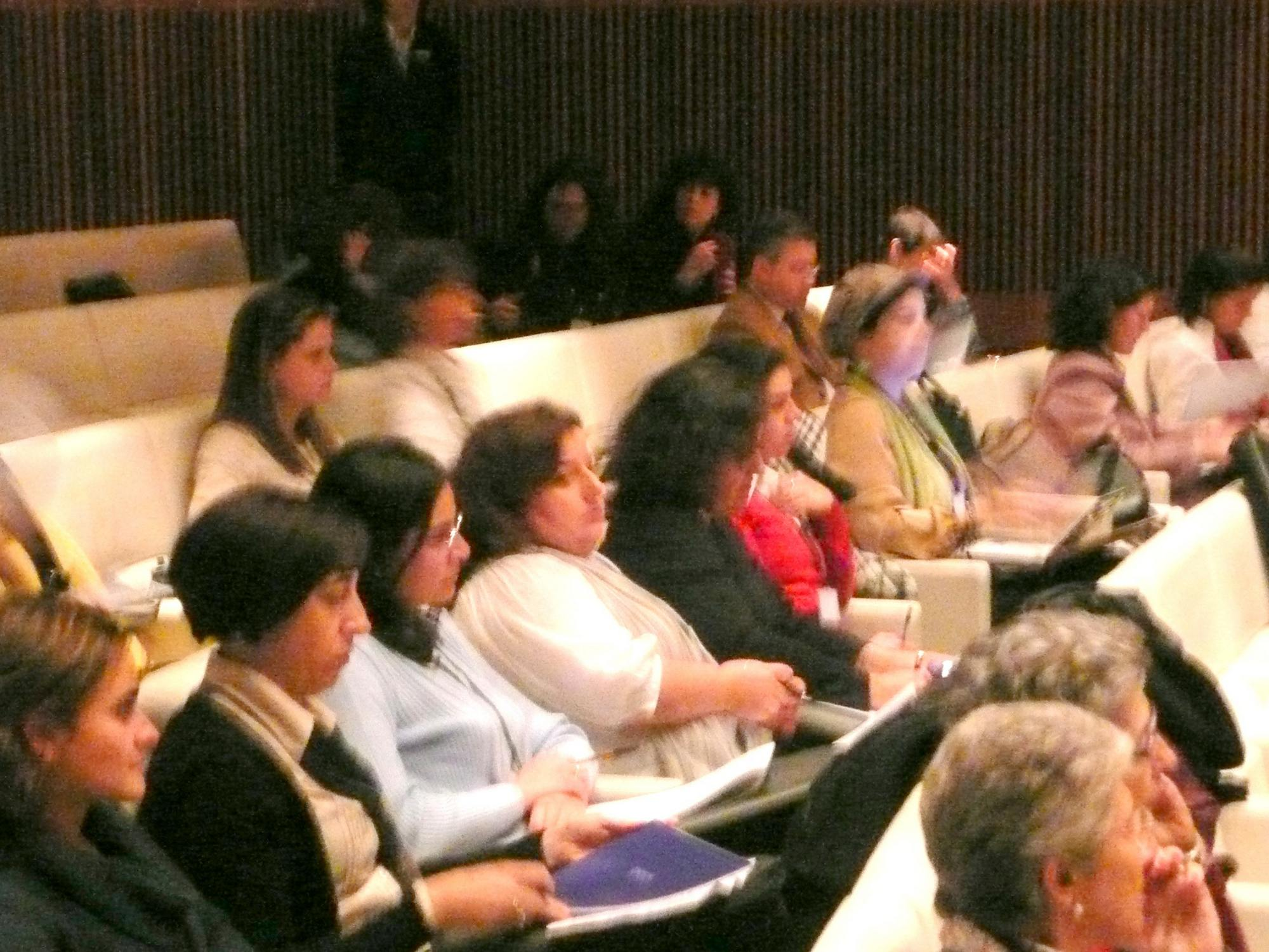 Participants during the Congress 2 2010