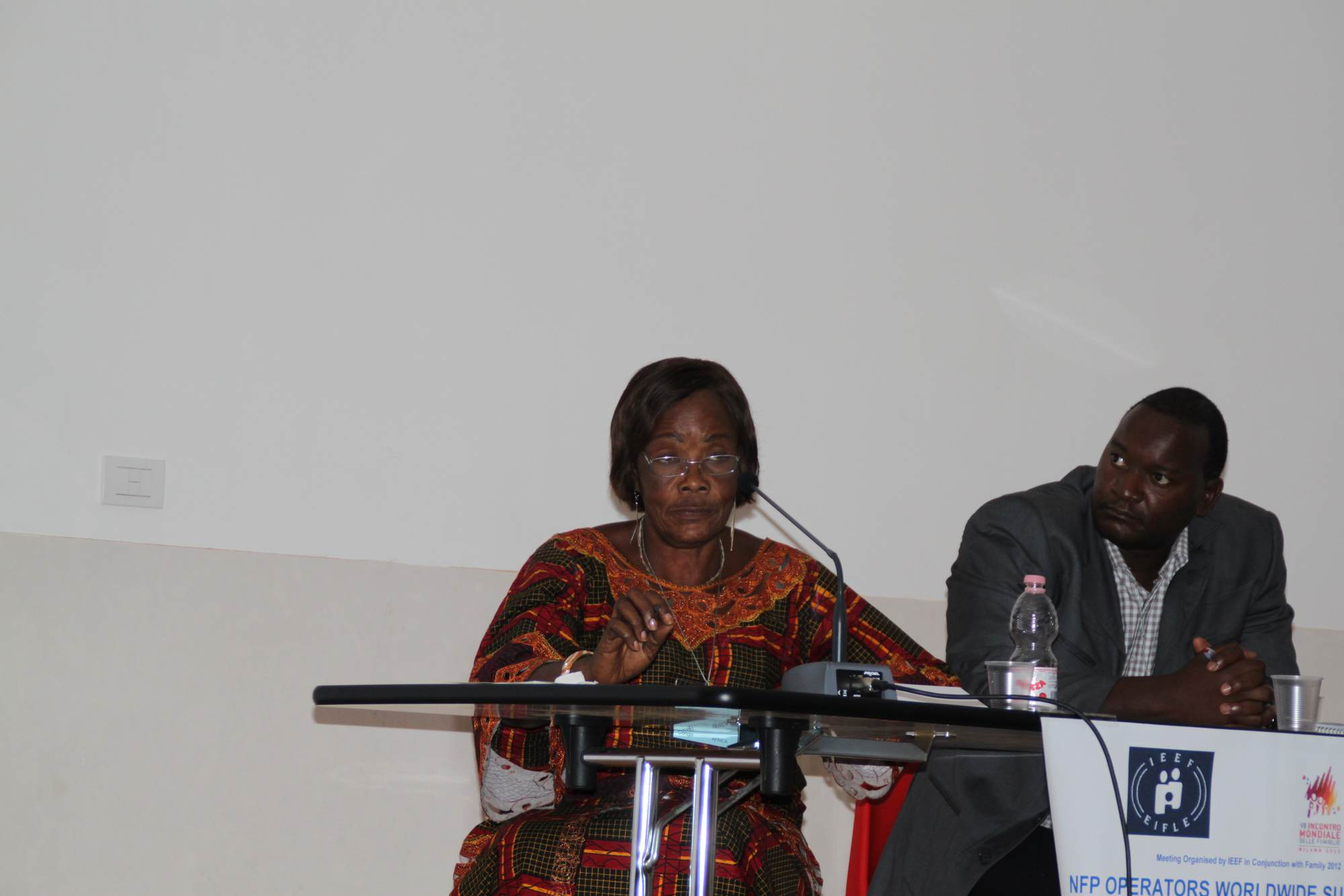 Berthe Odia and Fred Olweni 2012
